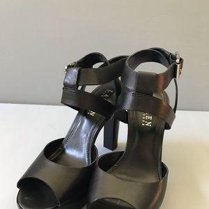 Ralph Lauren Shoes - Ralph Lauren Black Leather Heels